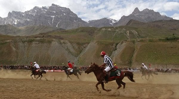 Omar wants to develop Kargil as a tourist destination for Polo