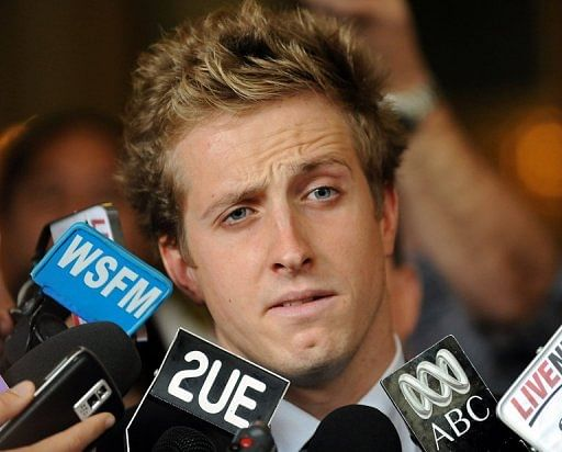 Australian swimmer gets suspended sentence on drug charges
