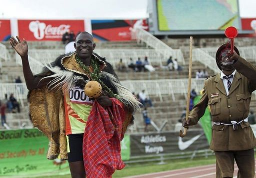 Kenyan Olympic champions prevail in trials
