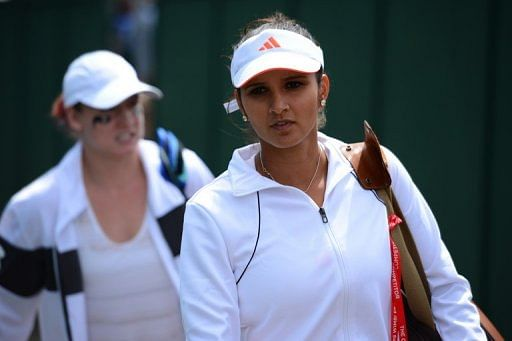 Sania Mirza (right) accused chiefs of