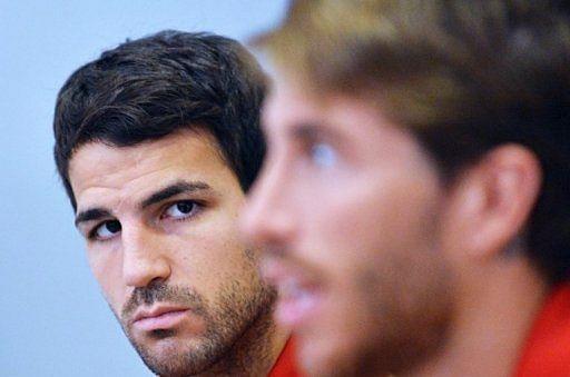 Lo que Cesc Fábregas dijo a Sergio Ramos por teléfono