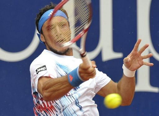 Quarterfinal results from Stuttgart ATP tournament