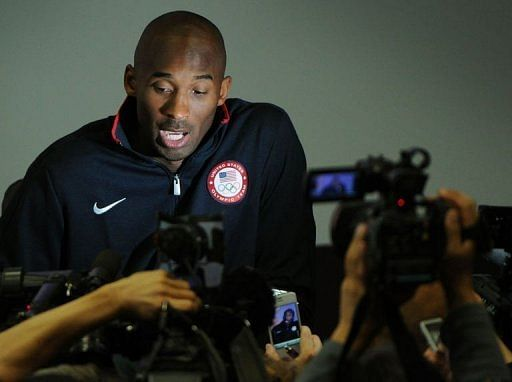 Kobe Bryant, who turns 34 next month, says he is done with the Olympics after London
