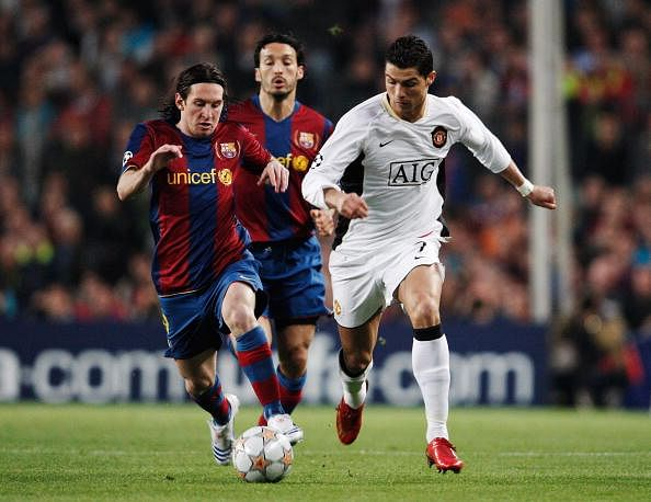 Why Cristiano Ronaldo has the Upper-Leg (Super-Sculpted) over Lionel Messi