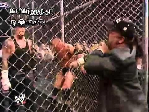 Undertaker Vs Brock Lesnar No Mercy 2002 Hell in a Cell Classic...