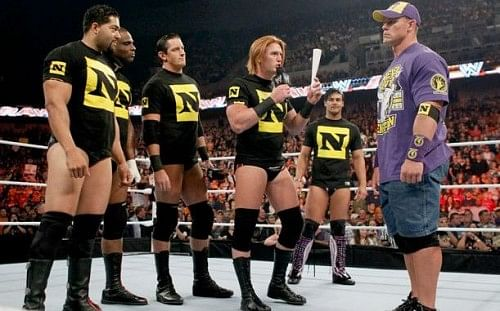 Wwe Nexus Vs John Cena Team Feud: John Cena...