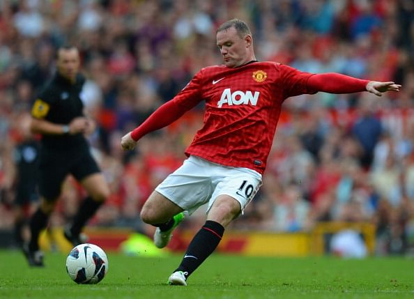 Wayne Rooney 2012 Gallery Wayne Rooney has revealed in his new book that he put on pounds
