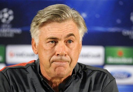 Paris Saint-Germain's coach Carlo Ancelotti