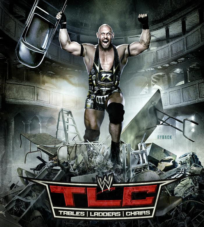 Wwe Tlc 2012 Poster Ft Ryback
