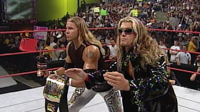 The greatest WWE Tag Teams of all time - Edge and Christian