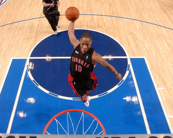 NBA Top 10 Dunkers: #4 DeMar DeRozan
