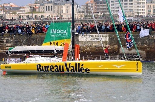 Third Boat Out Of Vendee Globe