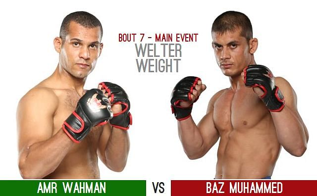 Result » SFL 9 - November 16 2012 (Amr Wahman vs Baz Muhammed)