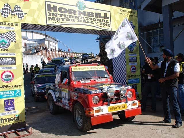 Top Entries For Jk Tyre Hornbill Rally