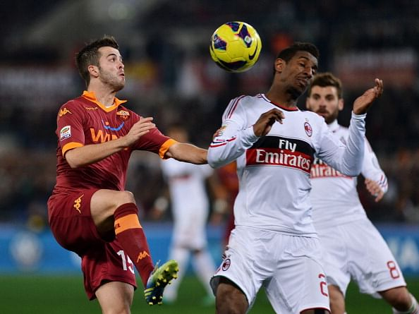 Milan held 2-2 by Roma