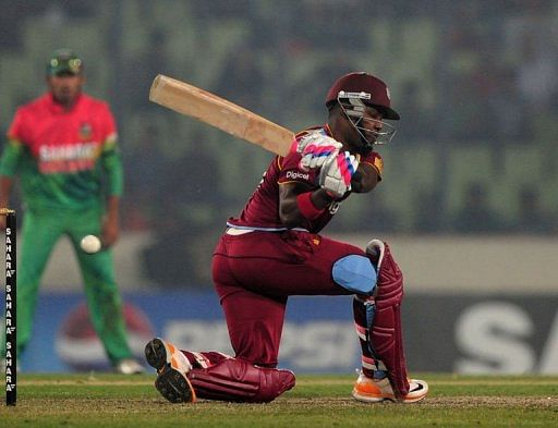 Ton-up Samuels helps West Indies beat Bangladesh