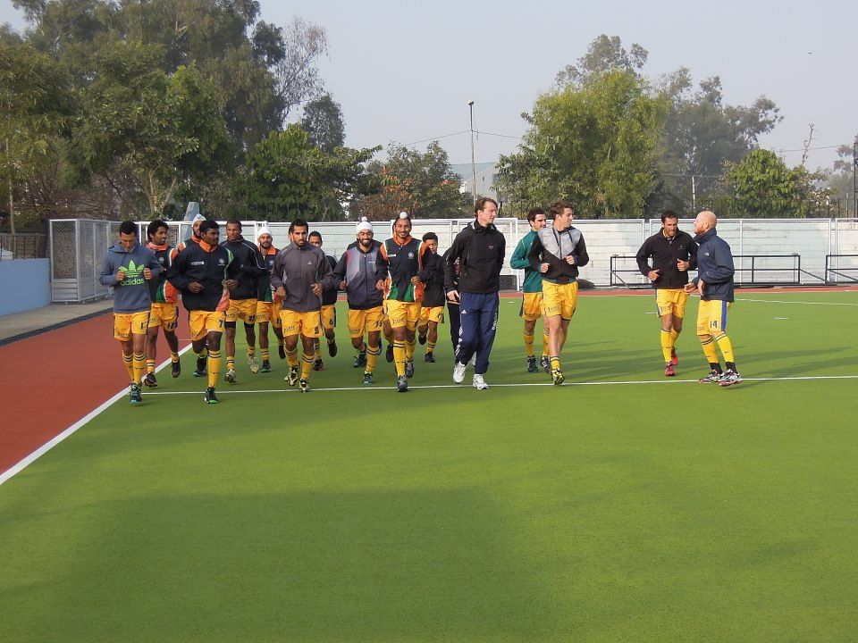 Jaypee Punjab Warriors train in Jalandhar