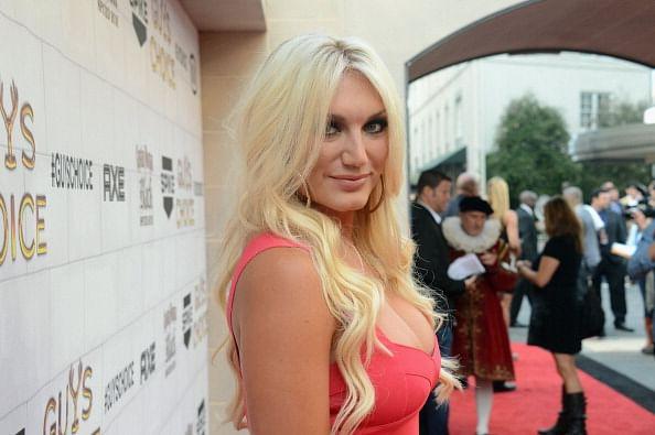 Brooke Hogan  daughter of wrestling legend Hulk Hogan   was in a    Brooke Hogan 2013
