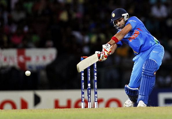 Dhoni happy that Rohit Sharma clicked in Mohali ODI