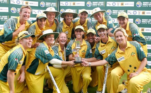 Cricket Australia pays tribute its women's team for winning World Cup T20