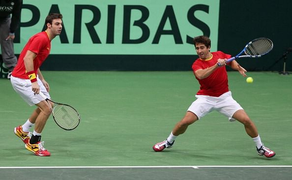 Germany overcome Spain 4-1 in Davis Cup tie