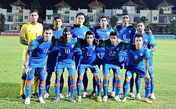 India remain in 166th place in the FIFA Rankings