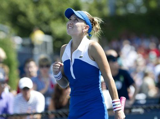 Russia's Vesnina wins first WTA title in Hobart