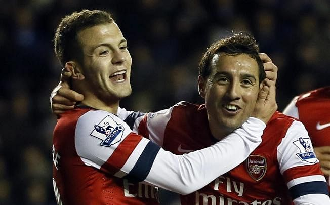 wilshere cazorla 1195379 The Premier League 4 2 3 1: Fantasista from the wing | Stats