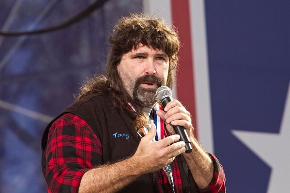 an analysis of wrestling through mick foley Was there heat between ric flair and mick foley i don't care how many thumbtacks mick foley has mick made his mark through the hardcore style of wrestling.