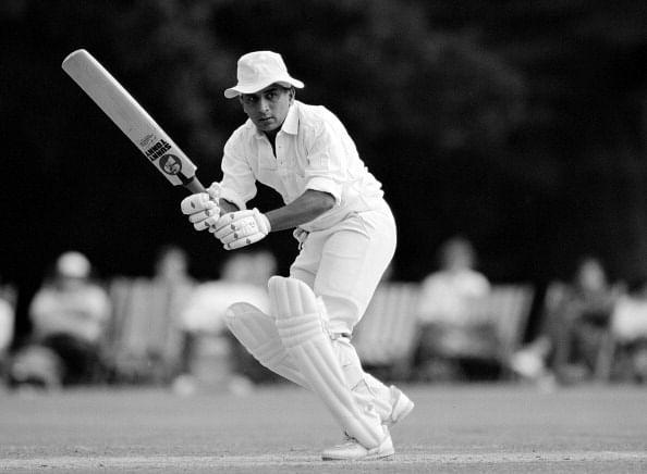 Image result for sunil gavaskar batting