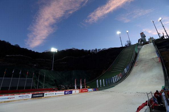 Russia sweep 50km cross country ski podium at Sochi Olympics