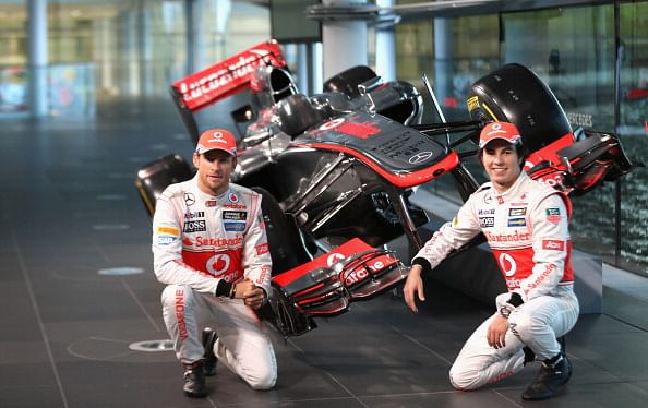 The changes in the new mclaren mp4 28 for Mercedes benz f1 drivers
