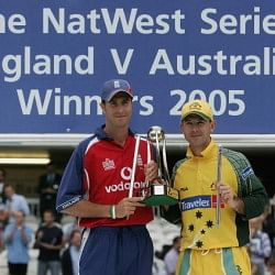 Cricket's Closest Contests: England vs Australia, 2005 Natwest final