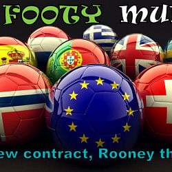 The Footy Mumble: Frankie's new contract, Rooney the Hooligan!