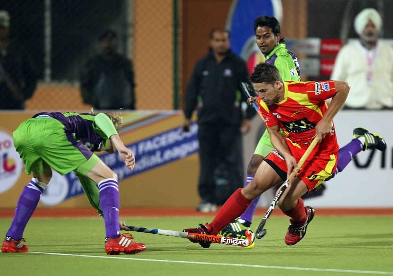 Delhi Waveriders beat Ranchi Rhinos 1-0 in HIL