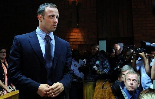 Family gather to meet bailed Pistorius