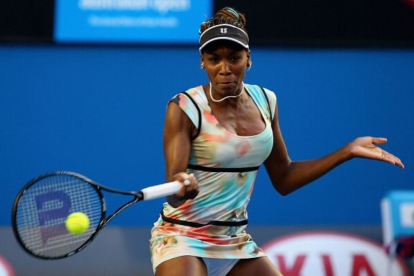 Venus Williams vs Kristina Mladenovic, Australian Open WTA - 16 Jan 2014