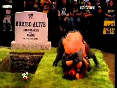 Video: The Undertaker vs Kane in a Buried Alive Match