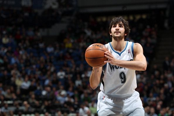 Minnesota Timberwolves' Rikcy Rubio makes career-high 16 assists