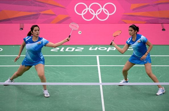 India's hopes rest on the shoulders of  Ashwini Ponnappa (R) and Jwala Gutta (L). (File Photo: Getty Images)