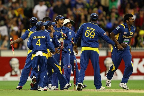 Sri Lanka defeat India, win World T20