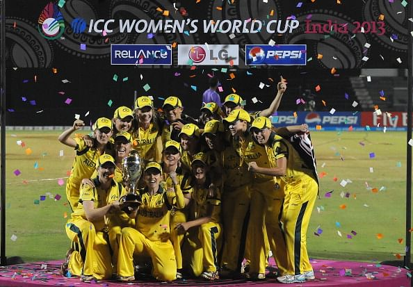 Australian cricketers get bonus on women's day