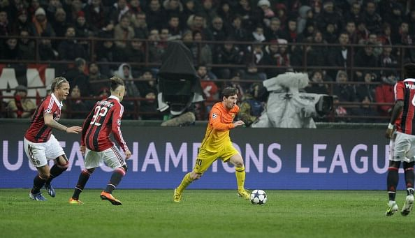 AC Milan v Barcelona - UEFA Champions League Round of 16
