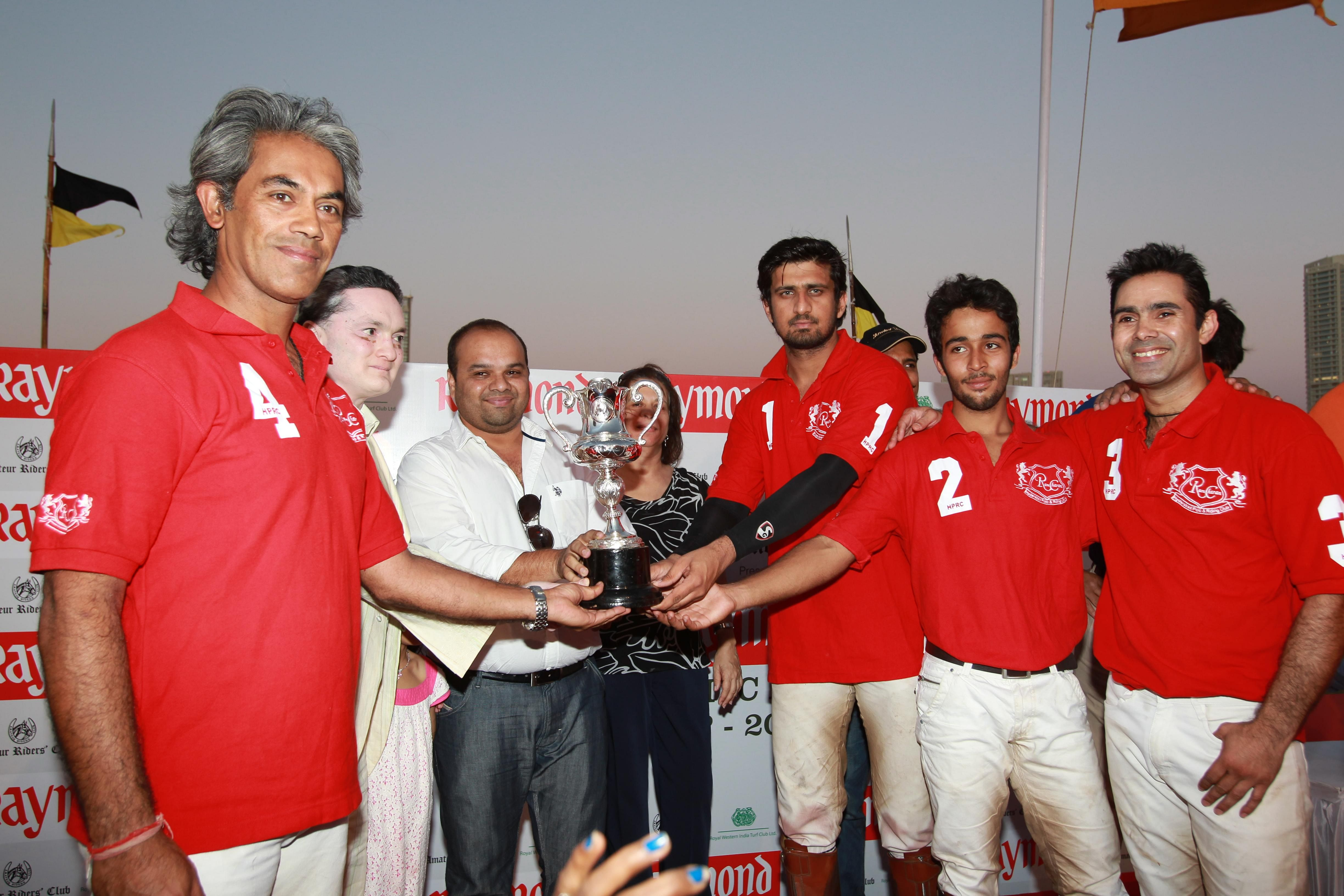 Team Ramcharan HPRC clinches maiden Raymond RWITC Polo Cup title, presented by ARC