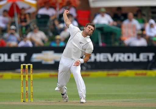Injury rules Bracewell out of England Test cricket