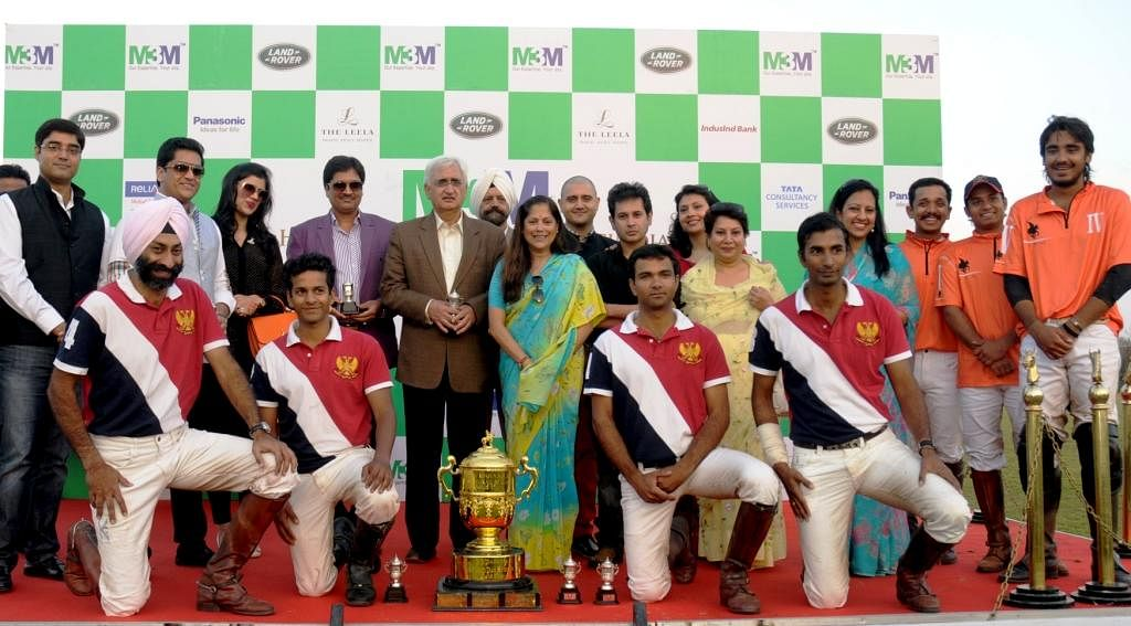 61st Cavalry trump IPG by 9 – 5½ goals to lift the M3M Maharaja Jiwaji Rao Scindia Gold Cup 2013 Trophy