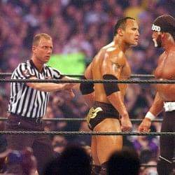 WrestleMania 18: Passing of the torch
