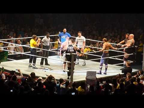 VIDEO: John Cena birthday celebration on RAW live event in England