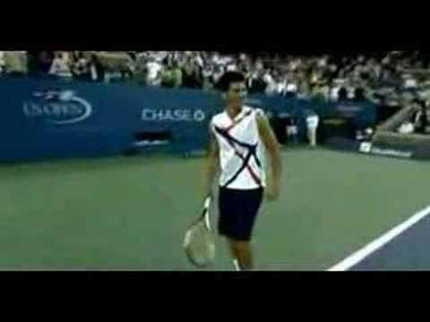 Video: Novak Djokovic impersonations