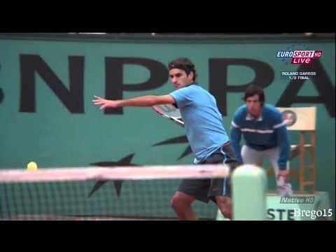 Video: Roger Federer the sole man for all